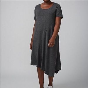 Lane Bryant asymmetrical T-shirt Dress Size 14/16